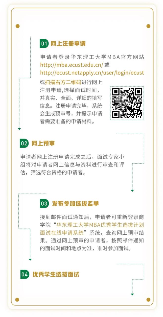 2022年入学华东理工大学MBA提前批面试真题放送(附面试流程)