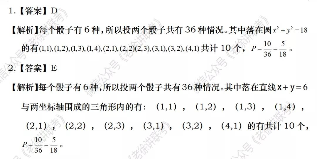 2022MBA考研 管理类联考:数学专题训练-数字问题概率(第二期)